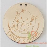 Medinis medalis laimės kūdikiui