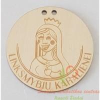 Medinis medalis linksmybių karalienei