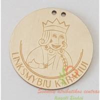 medinis medalis linksmybių karaliui