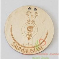 medinis medalis šauniausiam