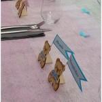 Stalo kortelės meškučiai