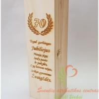 Vyno dėžė 70-o jubiliejaus proga
