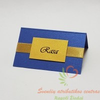 Stalo kortelė Jūsų svečiams su vardais