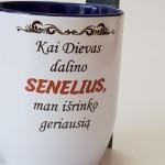 kavos puodelis dovana geriausiam seneliui, krikštynų dovanos