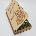 Medinė šokolado dėžutė Boso šokoladas