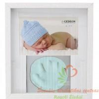 Rėmelis mažylio nuotraukai ir gipsiniam antspaudui