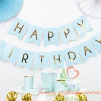 Vėliavėlių girlianda Happy Birthday