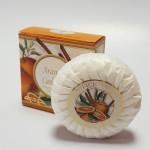 Itališkas Saponificio Artigianale Fiorentino apelsinų ir cinamono aromato muilas dėžutėje 1vnt. 100g
