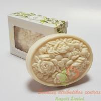 Itališkas Saponificio Artigianale Fiorentino jazminų aromato muilas dėžutėje 1vnt. 125g