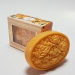 Itališkas Saponificio Artigianale Fiorentino mandarinų aromato muilas dėžutėje 1vnt. 125g