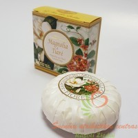 Itališkas Saponificio Artigianale Fiorentino magnolijų aromato muilas dėžutėje 1vnt. 100g