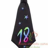 Kaklaraištis, šlipsas, gimtadienio atributika